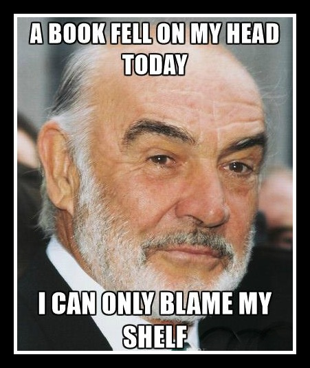 Sean Connery Shelf Joke